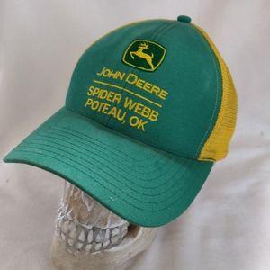 John Deere Spider Webb Poteau Oklahoma Hat.